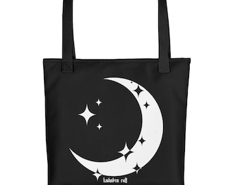 SPARKLE MOON Tote bag