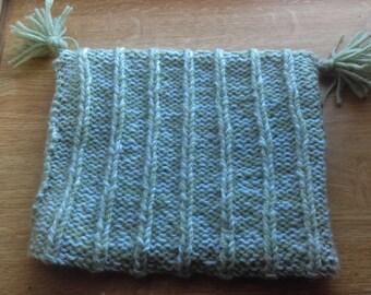 Mint Tassel Hat