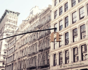 New York Photography, NYC Art Print, Soho Photo, Cast Iron, Buildings Picture, Neutral, Wall Decor, New York Wall Art, 8 x 10 Print