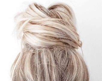 Hair Fork // Hair Pin // Gold Hair Fork // Boho Chic // Hairpin // Top Knot // Boho Hair // Ready to Ship