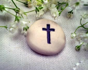 3+ Pocket Cross, Christian Gift, Religious Token, Memorial Token, Church Retreat Gift, Baptism Gift, Easter Gift