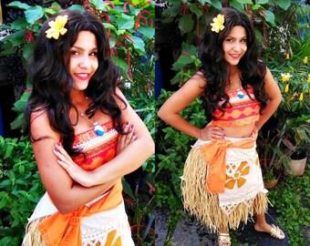 Moana Costume Disney Custom Cosplay Comission Seam - Under Measure