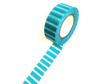 Washi Tape Turqoise Stripes