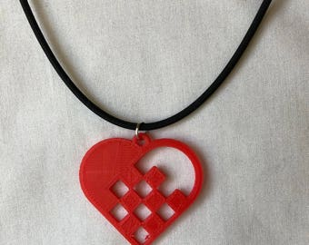Swedish Heart Necklace