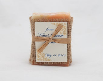 Soap Favor Sample