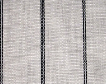 RUSTIC WOVEN Black Stripe multipurpose fabric