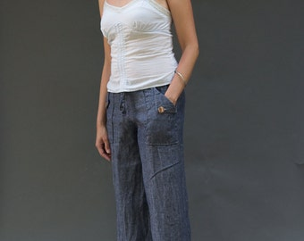 Oceanside Pants and Shorts PDF Sewing Pattern for women