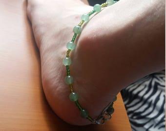 Green Orb anklet