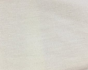 Cream Rayon Modal Spandex 60'' Wide Per Yard