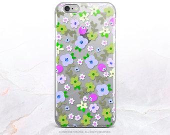 iPhone 8 Case iPhone X Case iPhone 7 Case Floral Clear GRIP Rubber Case iPhone 7 Plus Clear Case iPhone SE Case Samsung S8 Plus Case 286