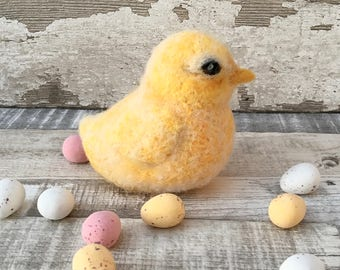Buttercup Easter Chick Knitting and felting Kit