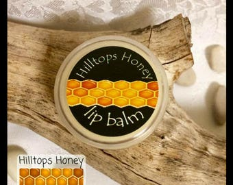 Beeswax lip balm, handmade with all natural ingredients, are protective, soothing and healing