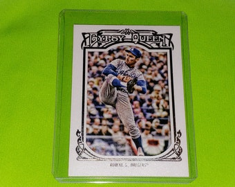 Mlb Sandy Koufax Los Angeles Dodgers Topps Gypsy Queen Baseball Mint