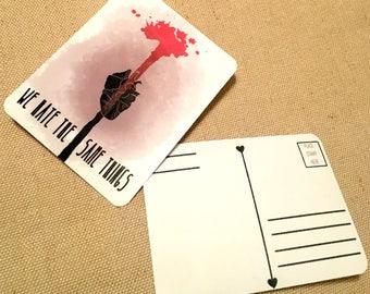 Anti-Valentines Poastcard