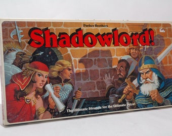 Shadowlord  from Parker Brothers 1983 COMPLETE