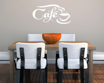 Cafe - Kitchen Wall Decals
