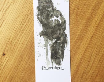 Splatter Cat bookmark