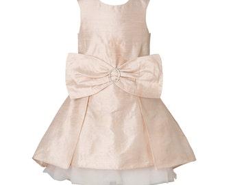 The Theodora Dress - Dusty Pink