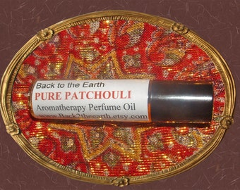 PURE PATCHOULI Natural Aromatherapy Perfume Oil w/Pure Essential Oil