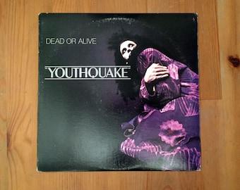 "Dead Or Alive – Youthquake  (1985) Vintage Vinyl 12"" Epic"