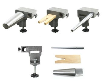 Free Domestic Shipping! Bench Anvil Combo Kit- Bracelet and Ring Mandrels, Anvil and Bench Pin - Bench Tools - Jewelry Making Tools - 134