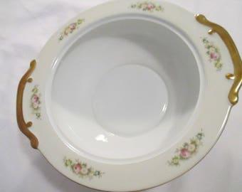 Vintage Meito China Round Serving Bowl