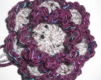 Flower Squared - Crochet PATTERN PDF ONLY