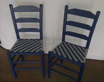 Antique Shaker style chairs