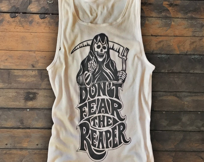 Featured listing image: Don't Fear The Reaper salvaged tank