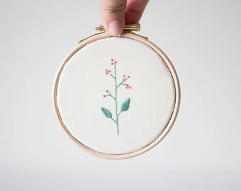Mini floral frames