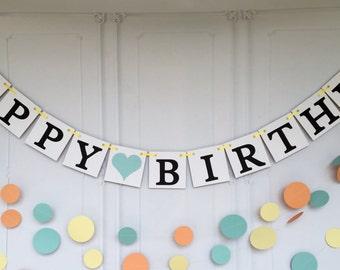 Happy Birthday Banner ~Birthday banner ~