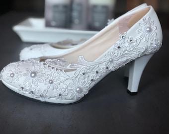 Bridal shoes-weddkmgs-bridal events-white shoes, pimps, flats, lower heels