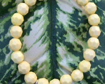 Yellow Beaded Pineapple Bracelet