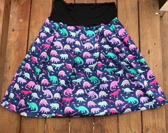 RAWR Dinosaur Skirt