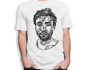 Childish Gambino Art T-Shirt, All Sizes