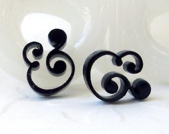Epershand Ampersand Stud Earrings