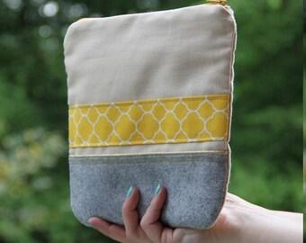 Zipper pouch / make-up / Scandinavian fabric