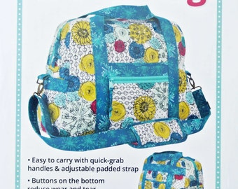 Ultimate Travel Bag Pattern, byAnnie, Travel Tote, Satchel, Luggage