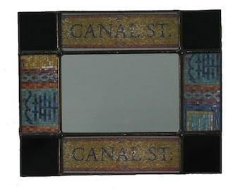 NYC Mirror-Canal Street Mosaic
