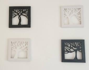 Canvas wall art tree of life