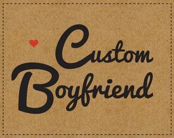 Custom Brooch Boyfriend