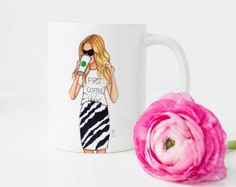 The Coffee Mug (Blonde)