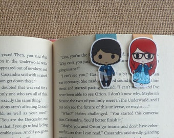 Magnetic Bookmarks • Geekerella Inspired