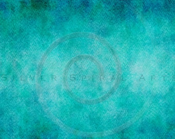 Teal Aqua Watercolor Photography Background Instant Download Printable Digital Scrapbook Paper Royalty Free Photo Texture Overlay Photoshop