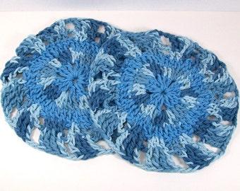 Crocheted Coasters / Hot Pads / Trivets  / Mug Rugs / Potholder / Mug Holder