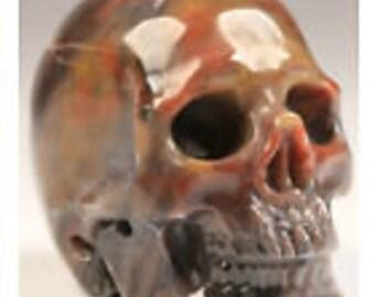 2.1 Inch Jade crystal skull