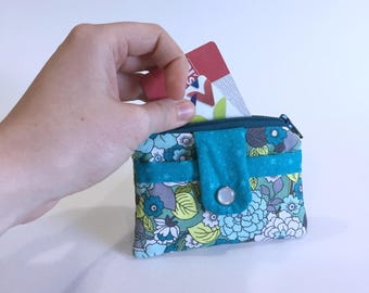 Small Zippered Wallet