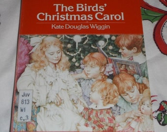 The Birds' Christmas Carol by Kate Douglas Wiggin Vintage Dell Yarling Classic Book 1988