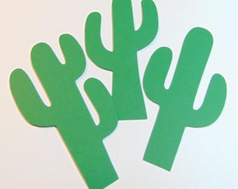 Cactus Die Cuts Set of 40