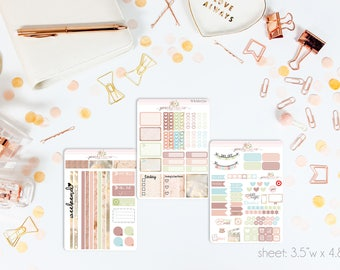 Dawn MINI Weekly Kit // 130+ Matte Planner Stickers // Perfect for your Personal Planner // WKM0750